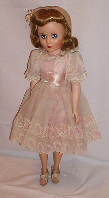 American Character Sweet Sue doll Flexible Foot 1957 20 inch blonde Sunday Best