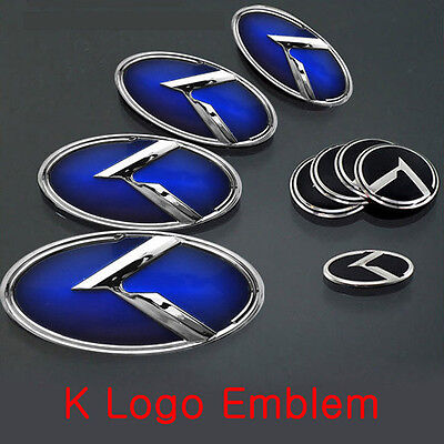 3D Concepto Emblem Badge BBY Set 3pc Fit: Hyundai 2016+ Elantra , Avante AD