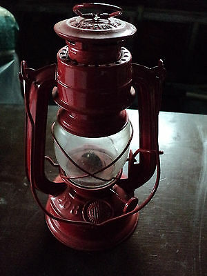lampe tempete rouge