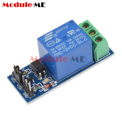 5PCS 12V one 1 Channel Relay Module With optocoupler For PIC AVR ARM Arduino UK