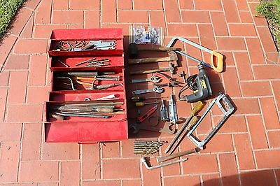 Tool Box and Tools Including Electric Drill