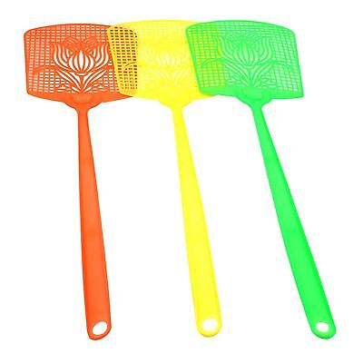 3Pcs Fly Swatters Swat Bug Mosquito Insect Wasp Killer Catcher Pest Control