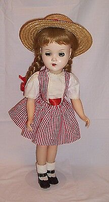 R&B blonde doll 1950s 17.5 inches tall hard plastic