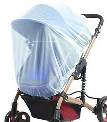 blue color Insect Cover Mosquito net for Pram/Stroller Accessory brand new