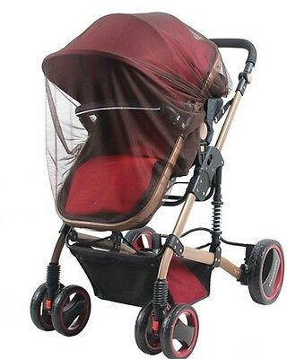 coffee color Insect Cover Mosquito net for Pram/Stroller Accessory brand new