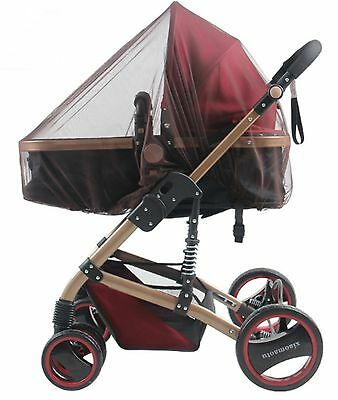 AU Seller coffee color Insect Cover Mosquito net for Pram/Stroller Accessory new