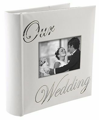 OUR WEDDING album by Malden holds 160 photos - 4x6 Beautiful little book!