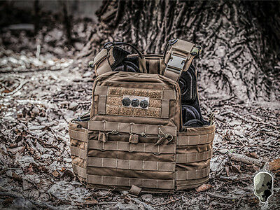 TMC Tactical CPC Molle Vest Cherry Plate Carrier Airsoft Hunting Military Gear