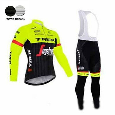 Fluo yellow cycling clothing winter mtb bike cycling jersey long sleeve maillot