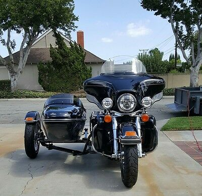 2009 Harley-Davidson Touring  idecar TLE on 2009 Ultra Classic , Road glide