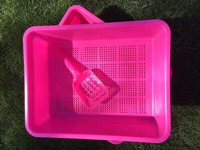 Cat Litter Sieve Tray with Free Scoop