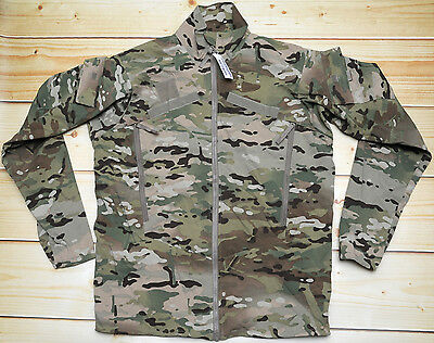 ECWCS WIND COLD WEATHER 3 - MULTICAM lightweight SOFTSHELL JACKET - SMALL LONG