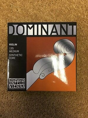 Thomastik-Infeld Dominant 135 Violin Strings - Full Set