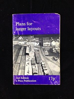 Peco 2nd Edition 'Plans For Larger Layouts' 1972