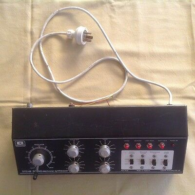 Codar Steam Sound Electronic Synthesizer With Instructions For Model Railways