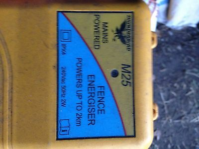 Thunderbird electric fence Charger
