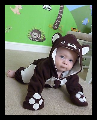 Baby Animal Outfit Romper Costume Carnival Party Tiger Lion Ladybird 6 12 18m