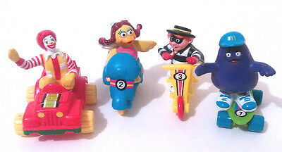 1990 McDonalds FUN TIME ON WHEELS Happy Meal Toys Japan Release Complete Set