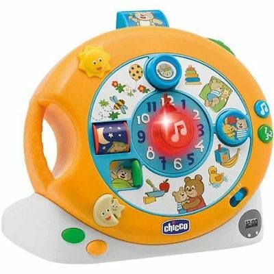 Brand New Boxed Chicco Sing And Play Clock  Age 9M + Various Activities