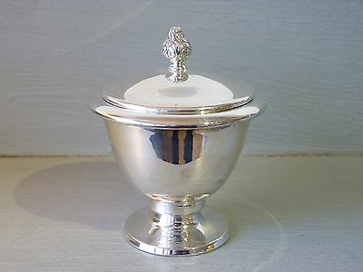 Vintage Opaisa Sterling Silver Covered Bowl : Peruvian Silver 1960's : 151g