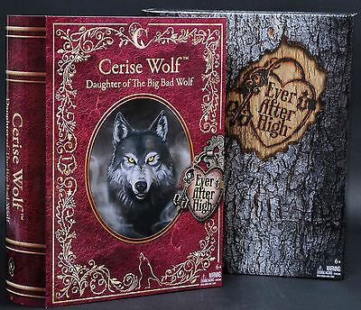 Ever After High Cerise Wolf 2014 Sdcc Mattel Doll Brand New In Box Sealed Cck33
