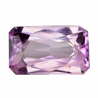 6.795Cts Dazzling Top Stunning Soft Pink Natural Kunzite Octagon Loose Gemstones