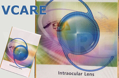 PMMA single piece posterior chamber Intraocular lens 19.00D