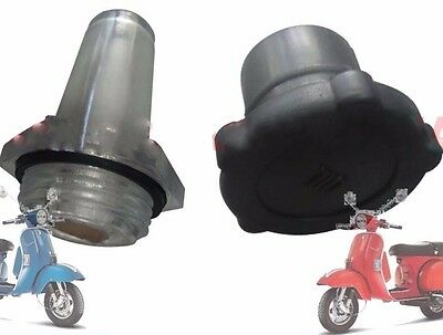 Vespa Oil Tank Cap & Glass For Px Lml Star Stella Lusso T5 Rally Scooters @uk