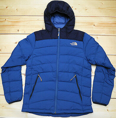 THE NORTH FACE LA PAZ HOODED - 600 DOWN insulated MEN'S PUFFER JACKET - size M