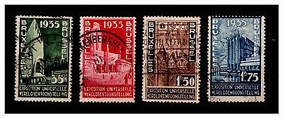 Belgium Advertising 1935 Brussels Expo Stamps. Used.  {#1132}