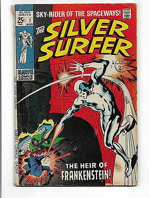 Marvel Comics - Silver Surfer #7 - First Issue 1969