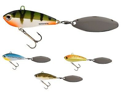 Manyfik IWO SW 23 55mm 23g / sinking lure for perch, pike / tail spinners