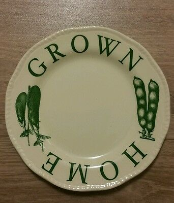 Wood & Sons Beautiful Rimmed Side Plate. The Kitchen Garden Range Discontinued