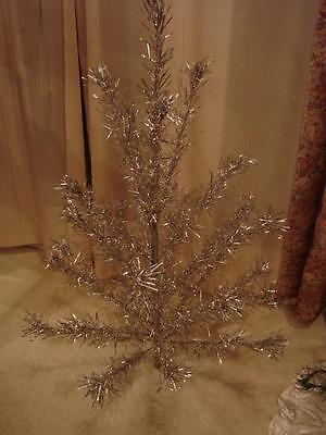 Vintage Fairyland 28 Branch 4 Foot Aluminum Christmas Tree With Box