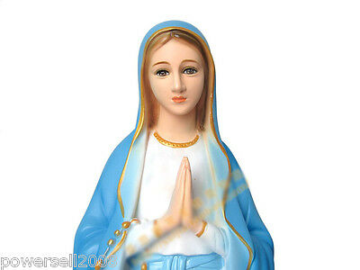 Catholic Church Christian Blessed Virgin Mary Resin Decoration Gift Prayer .