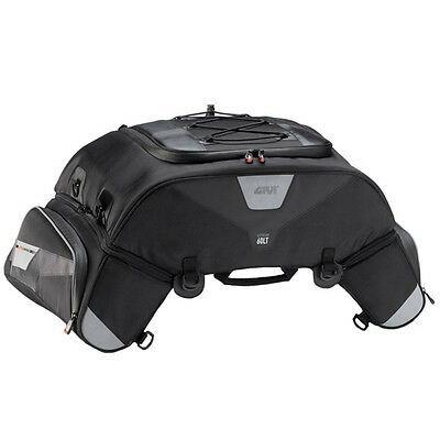 Givi Xstream Motorcycle Expandable Tail Bag - 60L - XS305