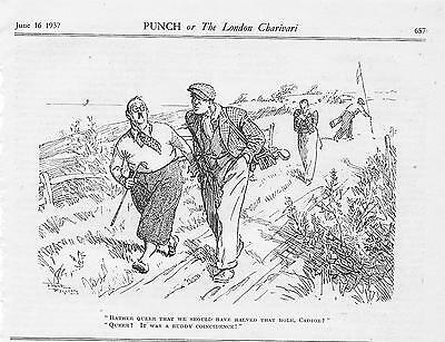 Collection Vintage 1930s Punch GOLF Cartoons by FRANK REYNOLDS