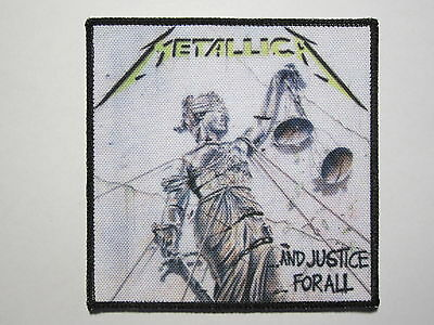 METALLICA ...And Justice For All new printed patch thrash metal