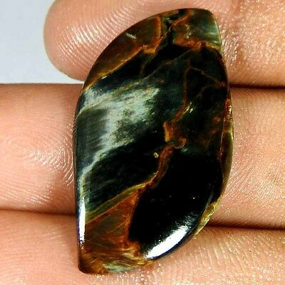 14.65Cts. 100% Natural Chatoyant Pietersite Fancy Cabochon Rare Quality Gemstone