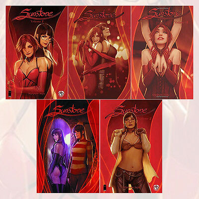 Sunstone Tp Series Collection Volume (1 - 5) 5 Books Set By Stjepan Sejic, NEW
