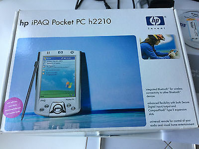 HP iPAQ Pocket PC H2210 PDA Handheld Windows Mobile