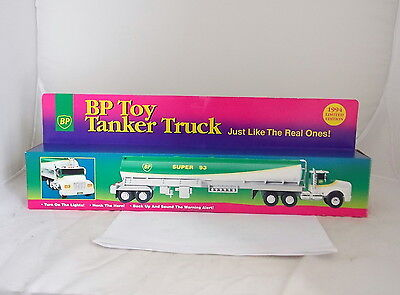 Vintage New 1994 BP TOY TANKER TRUCK SUPER 93 LIMITED EDITION Collectible