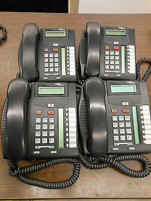 LOT OF (4) Nortel T7208 Phone (NT8B26)
