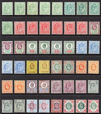 GB KEVII SG215-SG314 1/2d -1/- Definitives Collection Mint Hinged/Unused