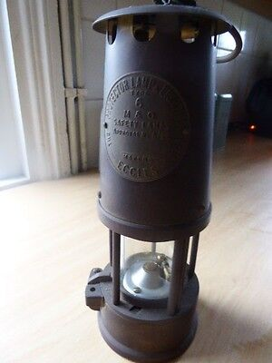 Brass Miners Eccles Protector Lamp Type  6