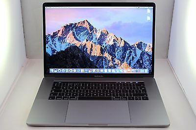 "Apple MacBook Pro Retina 15.4"" 2.9GHz Core i7 512GB SSD 16GB RAM Touch Late 2016"
