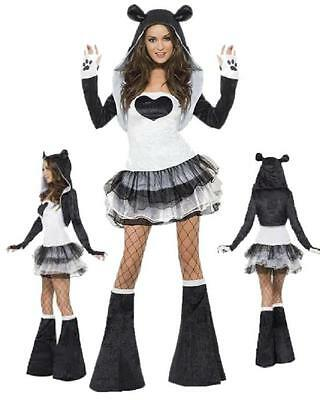 Costume Carnevale Donna tutu dress travestimento Panda smiffy's *17526