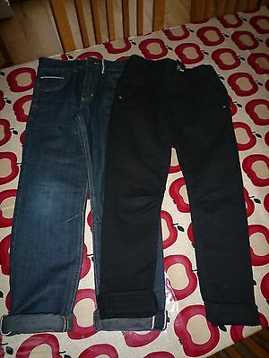 2 x Pairs of Boys Jeans Age 8-9yrs Next and George