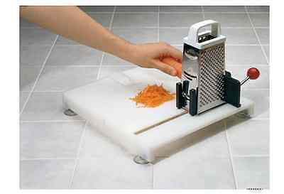 Non Slip Board Food Preparation Kitchen One Handed Disability Elderly Chop Slice