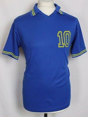 Schweden #10 Vintage Sweden Crossball Jersey Shirt Mens Large